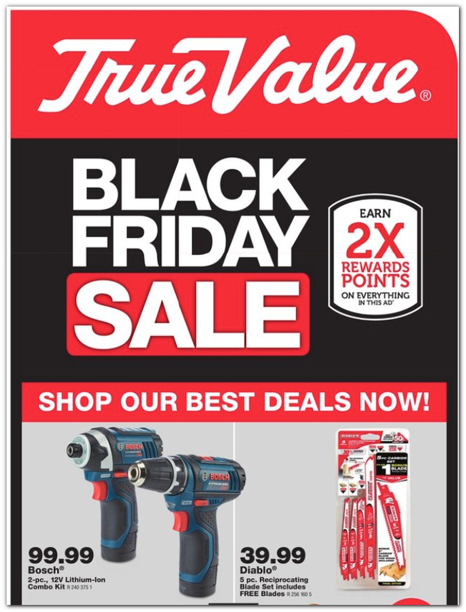 True Value Black Friday page 1